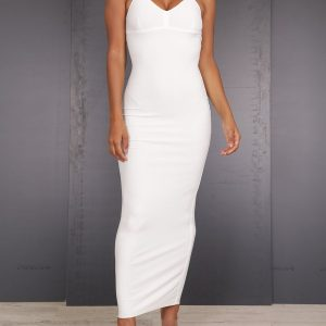 fashion-wit-dress-maxi-jurk-feestjurk-wit-gala-jurk-witte-basic-jurk